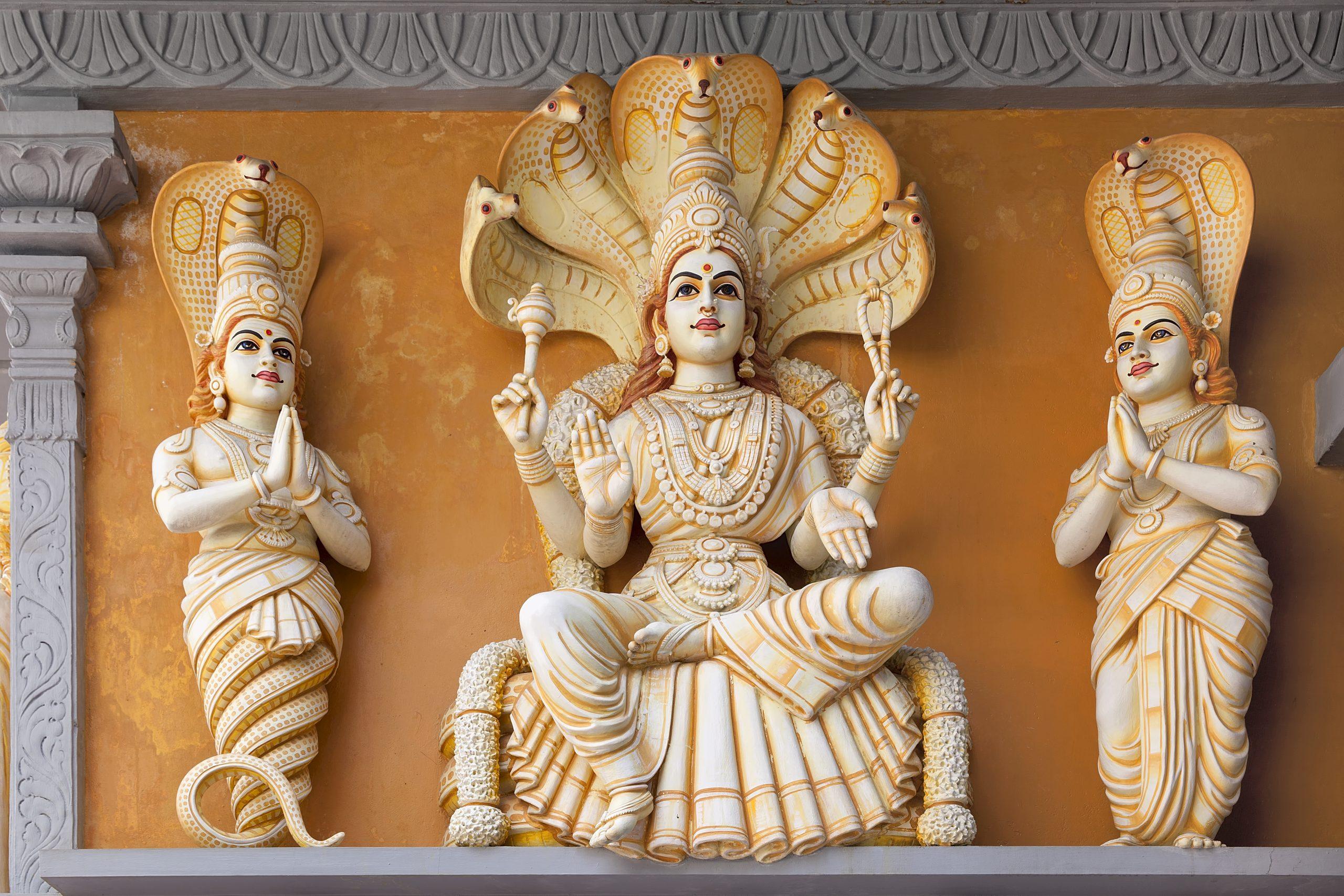 Hindu God Patanjali Statue absolutely adell