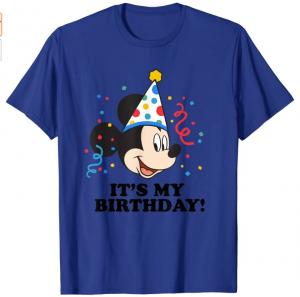 its my birthday mickey disneyland shirt